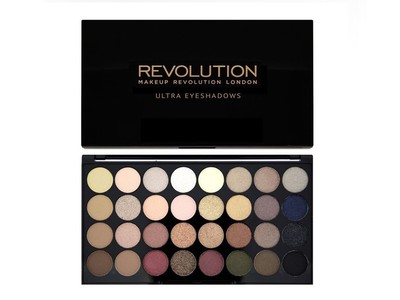 Makeup Revolution 32 FLAWLESS EYESHADOW