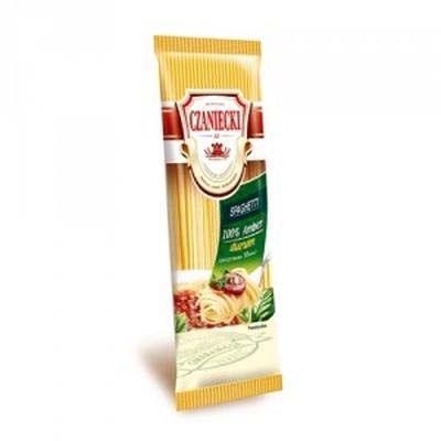 Makaron Czaniecki Spaghetti 100 % Amber Durum 500g