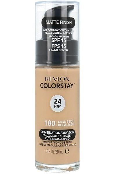 Revlon ColorStay 180 Skóra Tłusta/Mieszana 30ml