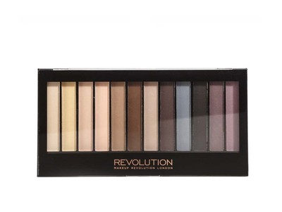 Makeup Revolution Redemption Essential Mattes paleta 12 cieni do powiek