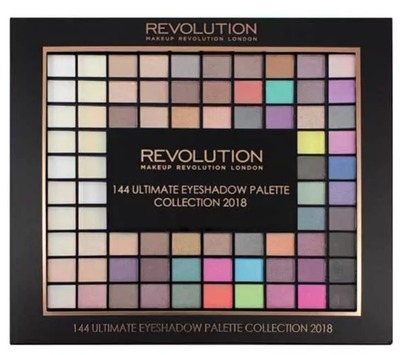 Makeup Revolution PALETA CIENI 144