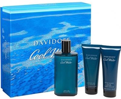 DAVIDOFF Cool Water Men 125ml + SHOWER GEL 75ml + ASB 75ml