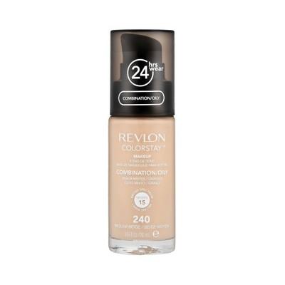 REVLON ColorStay 240 cera tłusta/mieszana 30ml z pompką