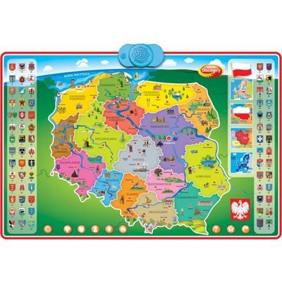 Dumel Discovery Interaktywna Mapa Polski nr 61171