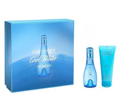 Davidoff Cool Water Women 50ml + Shower Gel 75ml