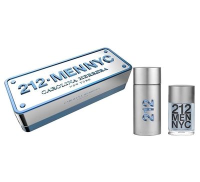 Carolina Herrera 212 Men 100ml + woda po goleniu 100ml