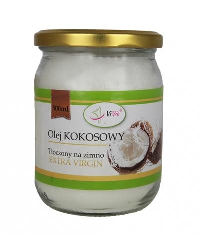 ViVio olej kokosowy 200ml extra virgin zimnotłoczony