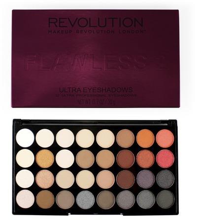 Makeup Revolution Ultra 32 Eyeshadow Flawless 2