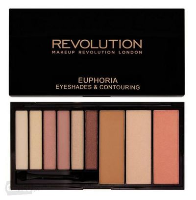 Makeup Revolution Blush Bronze & Highlight Euphoria Zestaw do makijażu