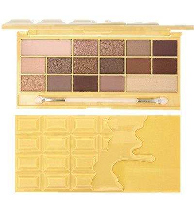 Makeup Revolution I Heart Makeup, Naked Chocolate Palette czekoladowa paleta 16 cieni do oczu