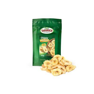 Targroch chipsy bananowe 500g