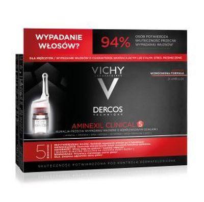 Vichy Derc Aminexil MEN 21 ampu