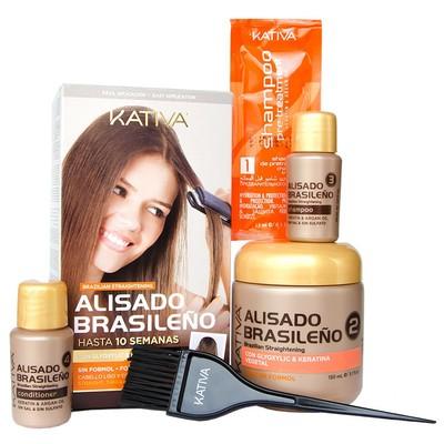Kativa Alisado Brasileno zestaw do keratynowego prostowania włosów