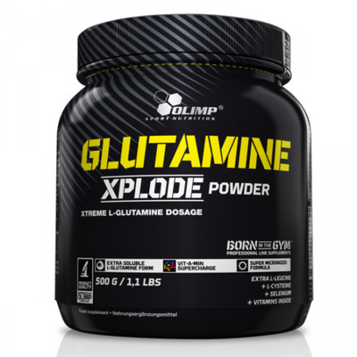 Olimp GLUTAMINE Xplode powder 500g orange