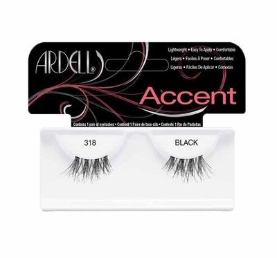 Ardell Accent sztuczne rzęsy 318 Black