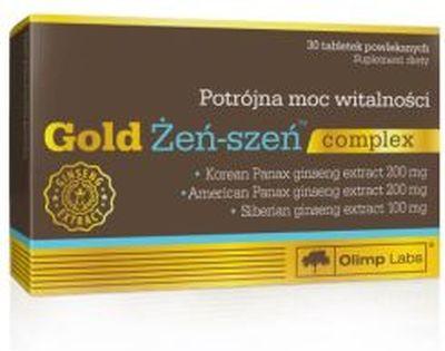 Olimp Gold Żeń-szeń complex 30kaps.