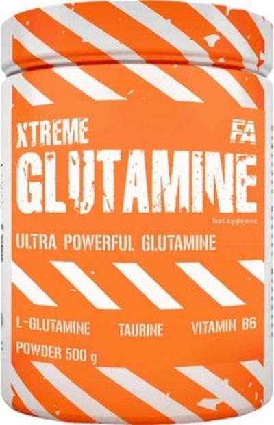 Fitness Authority FA Xtreme Glutamine Glutamina 500 g NATURAL