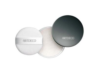 Artdeco Fixing Powder bezbarwny puder utrwalający makijaż, w kompakcie, 10g
