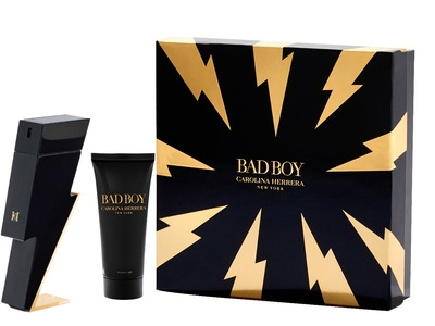 Carolina Herrera Bad Boy 100ml edt + żel pod prysznic 100ml