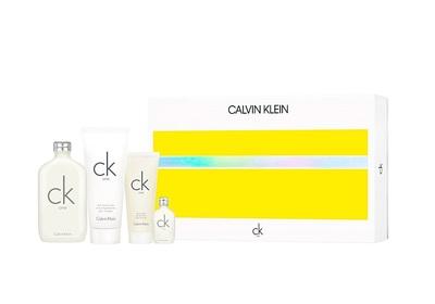 Calvin Klein One 200ml edt + 100ml balsam + 100ml żel pod prysznic + 15ml perfumetka
