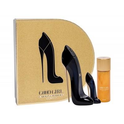 Carolina Herrera Good Girl 80ml edp + olejek do ciała 100ml + perfumetka 7ml