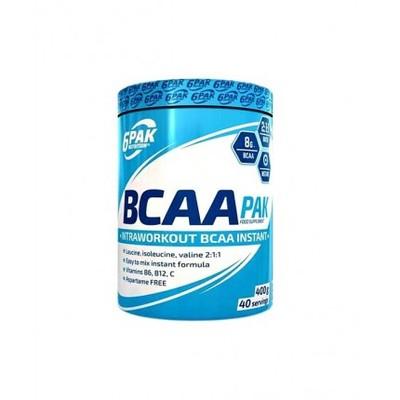 6PAK Nutrition BCAA pak 400g Orange Kiwi