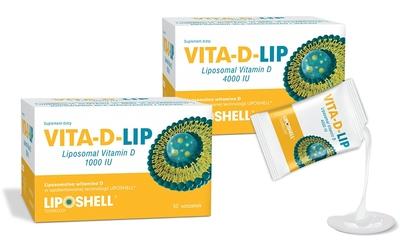 VITA-D-LIP liposomalna witamina D 1000 IU - żel doustny, 30 saszetek