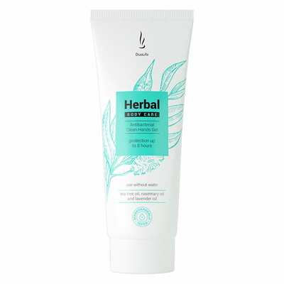 DuoLife Herbal Body Care antybakteryjny żel 50ml - ochrona do 8 godzin