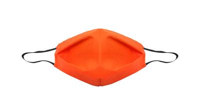 Maska maseczka ochronna 3 warstwowa, wielorazowa, pomarańczowa, foliowana 1 szt.