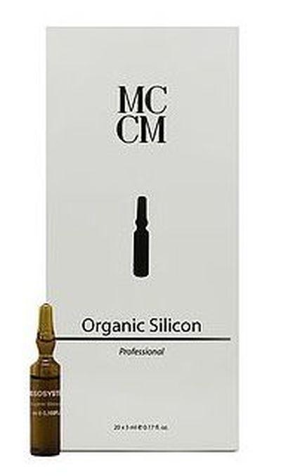 Ampułka Krzem organiczny MCCM do mezoterapii Elastycznoś, Ujędrnienie, Włosy