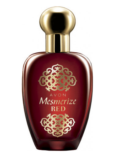 avon mesmerize red for women
