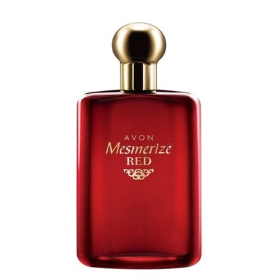 avon mesmerize red for men