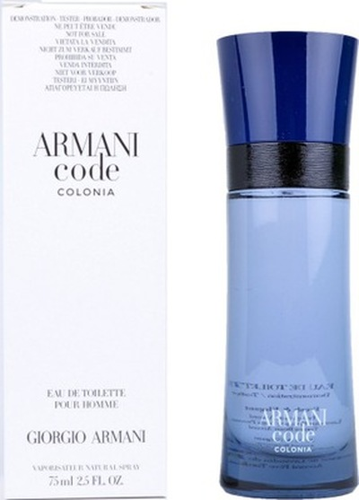 Armani Code Colonia 75ml edt tester