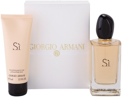 Armani Si 100ml edp + balsam do ciała 75ml