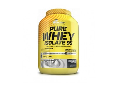 Olimp Pure Whey Isolate 95 izolat 2,2kg wanilia